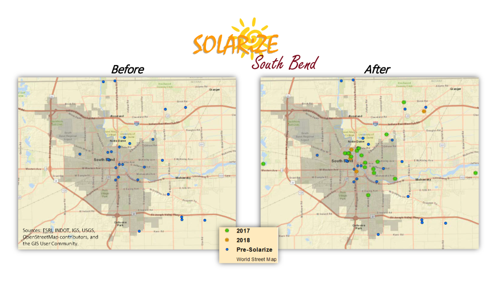 solarize maps_south bend